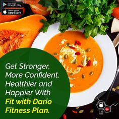 Get Stronger, More Confident, Healthier and Happier With Fit with Dario Fitness Plan.