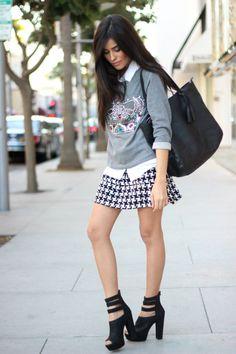 target style, target goes glam, fashion, houndstooth, fall trends 2013, sazan, barzani, old navy, embellished sweater trend, shoedazzle, bla...