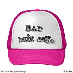 Cover your head with a customizable Pink I Love hat from Zazzle! Shop from baseball caps to trucker hats to add an extra touch to your look! Funny Hats, Pink Hat, Pink Blue, Hot Pink, Mint Green, Love Hat, Yellow Fashion, Gangsters, Thug Life
