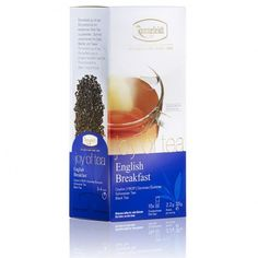 Joy of tea English Breakfast teabags - extra large teabags made to neatly fit on your handle of your cup. This is the same tea and similar teabag format to Ronnefeldt LeafCup English Breakfast English Breakfast Tea, Tea Box, Coconut, Joy, Coffee, Sweets, Italy, Bags, Shopping