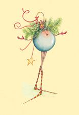 Patience Brewster Christmas Ball Girl Cards