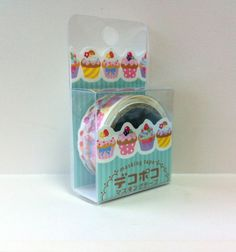 Kawaii Japan Deco Masking Tape:DecoPoco Series II Cupcakes
