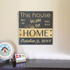 New Home Sign Housewarming Gift Decor Gifts
