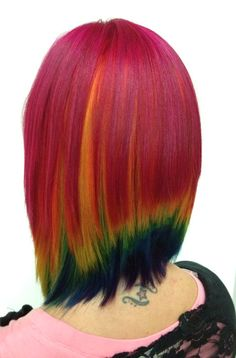 We were able to brighten up Sara's rainbow a bit this time.  Ursiola's media