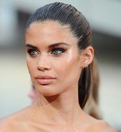 Beauty look de Sara Sampaio