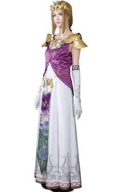 (Full Set)The Legend of Zelda Princess Zelda Cosplay Costume  sc 1 st  Pinterest & Twilight Princess Zelda | Princess Zelda(Twilight Princess) Concept ...