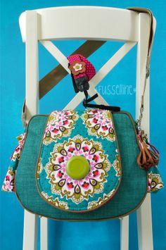 Fussellines Blog: Kameratasche Fotobella von Farbenmix