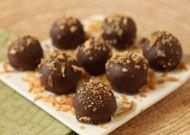 Vegan Coconut Truffles - (c) 2011 Elizabeth LaBau, licensed to About.com, Inc.