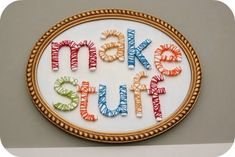 Make Stuff Yarn Craft Room Decor