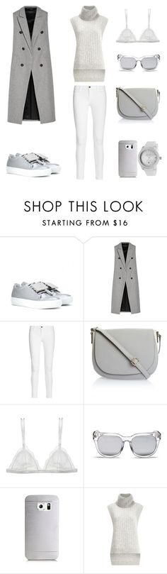 Sporty Waistcoat by fashionlandscape on Polyvore featuring 3.1 Phillip Lim, rag & bone, Frame, Curriculum Vitae, Acne Studios, Lucien Piccard, Samsung and Blanc & Eclare