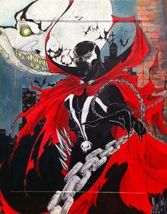 Spawn, Spiderman, Artworks, Fanart, Facebook, Superhero, Anime, Fictional Characters, Spider Man