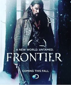 """With Jason Momoa, Diana Bentley, Breanne Hill, Jessica Matten. Frontier is the first original scripted series ordered by Discovery, and will follow the struggle to """"control wealth and power in the North American fur trade in the late 18th century."""""""