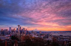 Seattle Kerry Park on Queen Anne. One of the best views of Seattle you'll find...photo op!