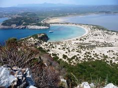 Voidokilia Beach (Messinia, Greece)