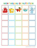 Mon tableau de nutrition Nutrition, Activities, Canteen, Nursery Rhymes, Group, Preschool, Coloring Pages, Board