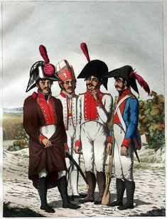 3 soldiers of the Regiment Guadalaxara and one from the militia.