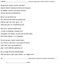 Nieuwjaarsbrief dieren - De juffrouw zegt Christmas Wishes, Christmas Holidays, Dear Best Friend, Happy New Year, Back To School, Texts, Writing, Words, Quotes