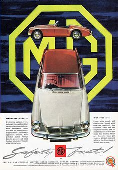 1960 MG Magnette Mark III & MGA 1600
