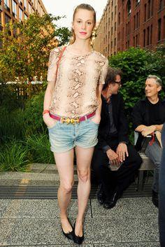 Elettra Wiedemann at Coach's Summer Party