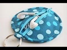 DIY Bolsito para auriculares o para articulos personales - Video Master ...