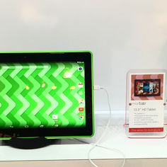Coming very soon: A $199 13.3-inch tablet with a well-designed kid mode. A definite high want for my household! #ces2015