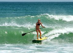 Stand Up Paddleboarding... I might like to try. :)
