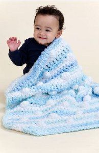 Road Trip Baby Blanket | What a cute and easy crochet baby blanket pattern! It looks so snuggly!