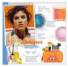 """""summer"" makeup !"" by alves-nogueira ❤ liked on Polyvore featuring beauty, Max Factor, Paul & Joe Beaute, MAC Cosmetics and Anya Hindmarch"
