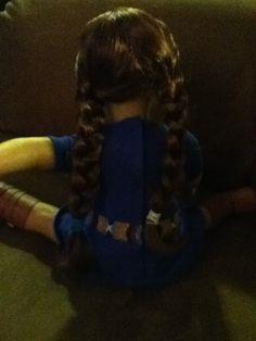 Cute American Girl Doll Hair (Easy)
