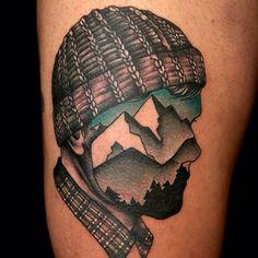 Znalezione obrazy dla zapytania face in tattoo