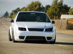 Today, many Euro enthusiasts have embraced air-ride. It's become a common instrument for project builders across North America including Clinton Franklin and his 2003 Volkswagen Jetta GLI. - Eurotuner Magazine