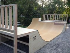gonna extend my ramp into something like this over the winter... - Custom Ramp Installation - Halfpipe by Orange County Ramps - OC Ramps