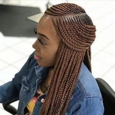 85 Box Braids Hairstyles for Black Women - Hairstyles Trends Box Braids Hairstyles, Lemonade Braids Hairstyles, My Hairstyle, African Hairstyles, Girl Hairstyles, Hairstyles 2018, Trending Hairstyles, Hairstyle Ideas, Teenage Hairstyles