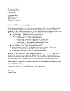 Cover letter admissions counselor