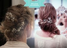 Something Tiffany Blue by MissBeckyB. | Wedding: ACCONCIATURE SPOSA: IL RACCOLTO FLOREALE