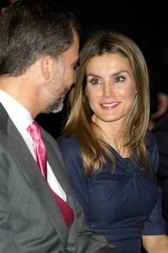 MYROYALS - HOLLYWOOD: Prince Felipe and Princess Letizia, November 2012