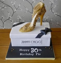 Jimmy Choo Shoe Cake!! - Cake by Daisychain's Cakes
