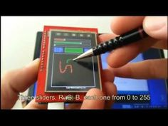 How to Use 2.4 Inch TFT LCD SPFD5408 With Arduino Uno and Mega - All