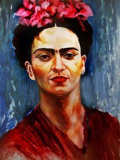 Frida Kahlo by Sufragette
