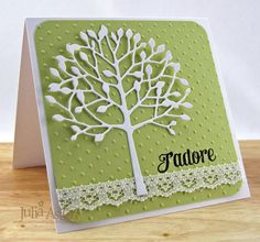pinterest memory box die arboscello cards | And here's my rather Clean and Simple interpretation of it!