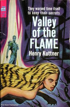 scificovers:  Valley of the Flame by Henry Kuttner. Ace Books F-297 1964.  Cover art by Ed Emshwiller.