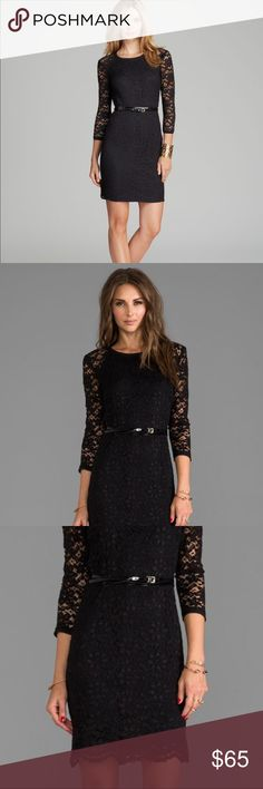 Couture ★ Juicy Couture Black Long Sleeve Lace Dress ♡  New without tags ♡ Never worn.  BUNDLE FOR A BETTER DEAL ♡ You'll be able to see the subtotal for all items. This includes any BUNDLE DISCOUNTS and shipping. Juicy Couture Dresses
