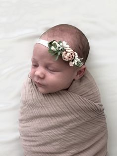 This adorable baby/toddler headband is made up of white and blush flowers and greenery on a super soft white nylon headband. This would make the perfect accessory for your little lady for any occasion. Baby Flower Headbands, Toddler Headbands, White Headband, Blush Flowers, Little Ones, Cute Babies, Daisy, Hair Accessories, Pink