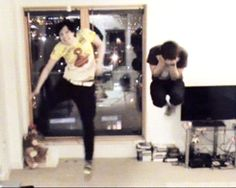 Idk why but at the point where Dan is holding Phil bridal style just makes me really happy. Well to be fair this gif makes me really happy