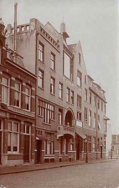 Het Juliana ziekenhuis in de Ter Haarstraat.
