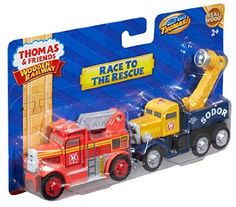 Fisher-Price Thomas the Train Wooden Railway Race to The Rescue