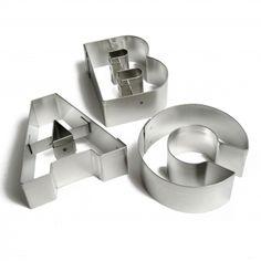 Uitsteekvormen alfabet