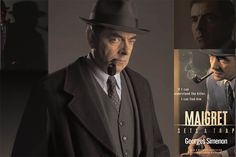 SIMENON SIMENON. MAIGRET COMES BACK ON MARCH 28 - On the upcoming television series and Rowan Atkinson, the new Chief Inspector Maigret.