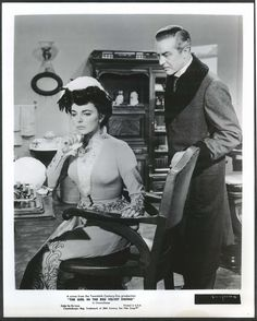 Ray Milland Joan Collins Girl in the Red Velvet Swing 8x10 photograph 1955
