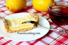 Лимонный тарт в ванильно-миндальной оболочке
